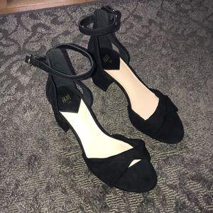 Black H&M sandals